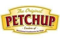 """gold product badge that reads """"the original petchup"""""""